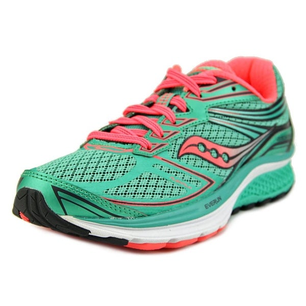 Saucony Guide 9 Women Round Toe Synthetic Green Running Shoe