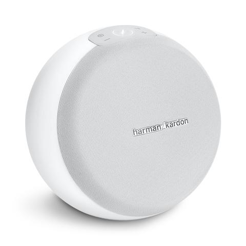 Harman Kardon Omni 10 Plus Wireless HD Speaker - White - 9.1 x 7.9 x 9.1