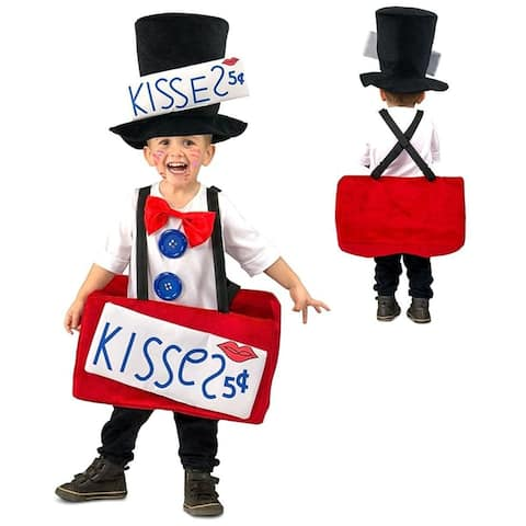 Kissing Booth Toddler Costume X-Small/Small - Red