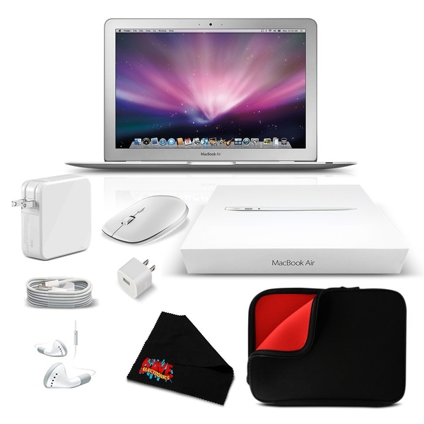 Apple 11.6 Inch MacBook Air Notebook Computer Starter Bundle