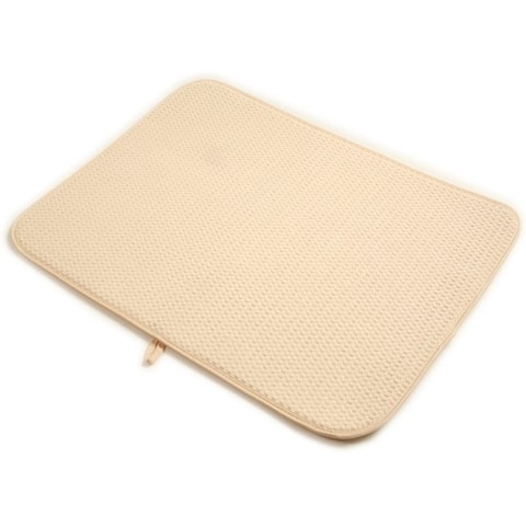 Norpro Washable Microfiber Dish Drainer Glass Drying Mat Pad