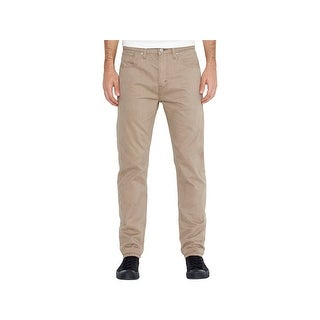 Levi's Mens 508 Straight Leg Jeans Tapered Slim Fit