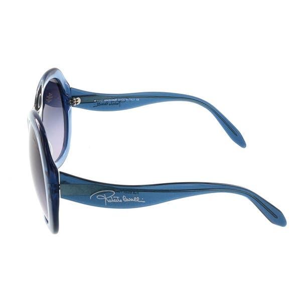 NEW Roberto Cavalli RC734S 86B Full Moon Blue Gradient Sunglasses 60-17 135