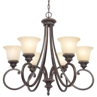 Dolan Designs 1750-148 Hastings 6 Light Chandelier