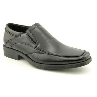Kenneth Cole Reaction Slick Deal  Men  Apron Toe Synthetic Black Loafer