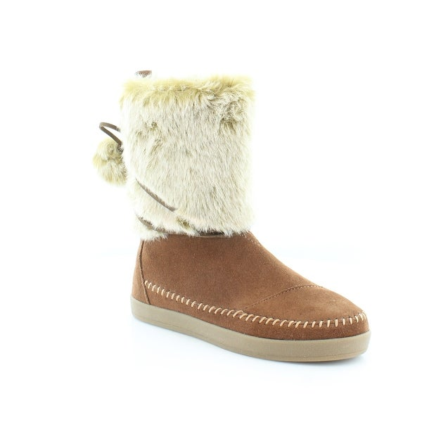 79ff40afbe4 Shop TOMS Nepal Women s Boots Brown - 5 - Free Shipping On Orders ...