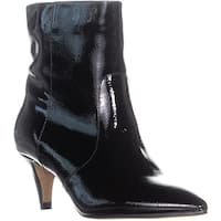 Dolce Vita Dee Kitten Heel Pointed Toe Boots, Black - 6.5 us