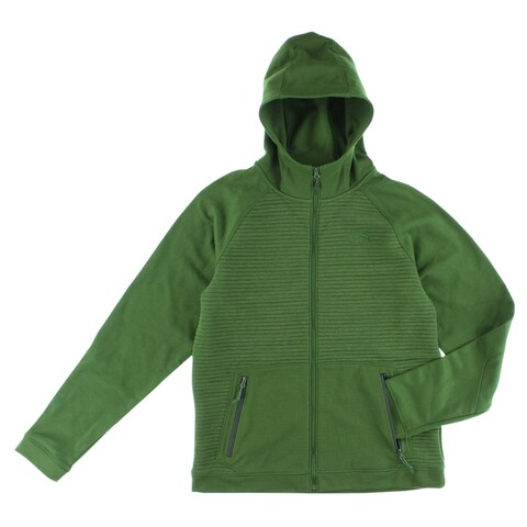 The North Face Mens Raffetto Hoodie Army Green - Army Green
