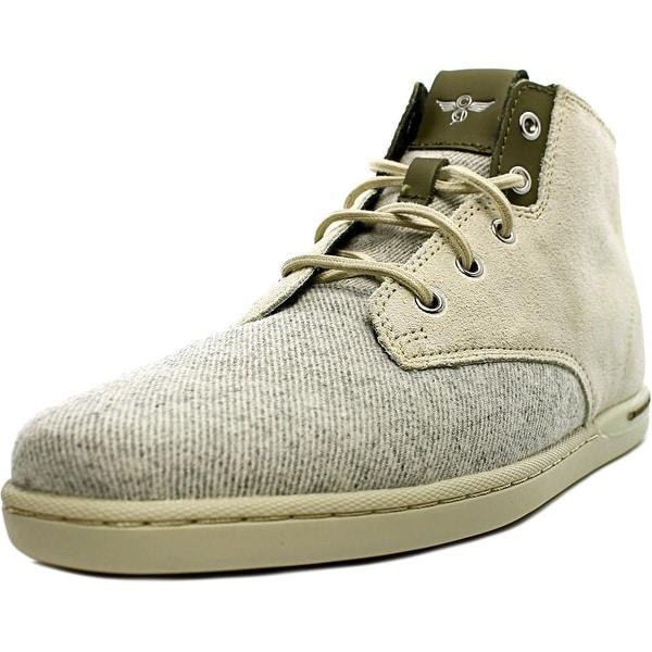 Creative Recreation Vito Men Round Toe Suede Ivory Sneakers