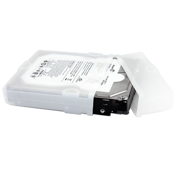 Startech Hddslev35 3.5In Silicone Hard Drive Protector Sleeve With Connector Cap