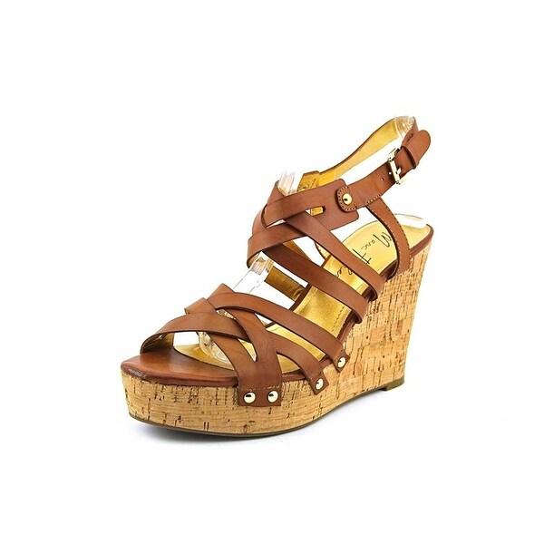 Marc Fisher Womens HAYFA Open Toe Casual Platform Sandals