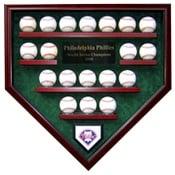 Philadelphia Phillies 19 Baseball Display Case