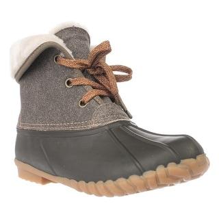 Sporto Diana Faux Fur Lined Short Rain Boots - Alaska