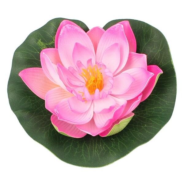 Shop Unique Bargains 7 Artificial Floating Foam Lotus Flower