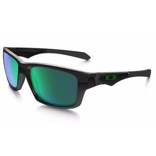 Oakley Jupiter Squared Sunglasses (Polished Black w/ Jade Iridium Frames)