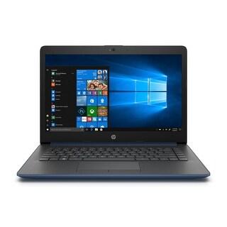 "HP 17-BY Intel Celeron N4000 4GB 1TB HDD 17.3"" HD+ WLED Wind 10 Laptop (Blue)-Refurbished"