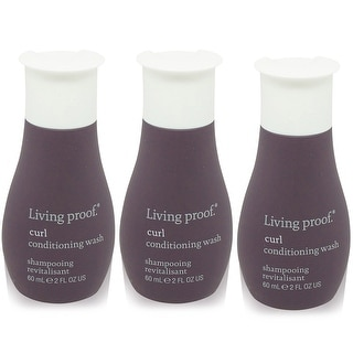Living Proof Curl Conditioning Wash Travel Size 3 pack
