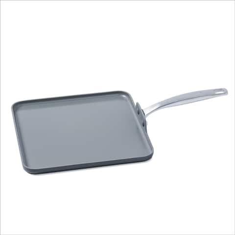 GreenPan Chatham Ceramic Non-Stick Square Griddle, 11-Inch