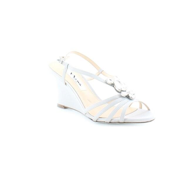 Nina Mineola Women's Heels Silver