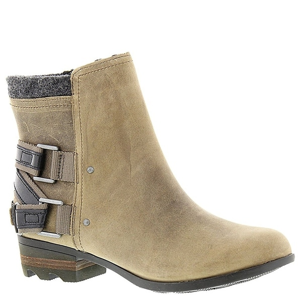 SOREL Womens lolla Fabric Almond Toe Ankle Fashion Boots - 6