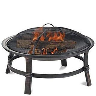 "Blue Rhino - Wad15121mt - 17""H Wood Burning Firebowl"