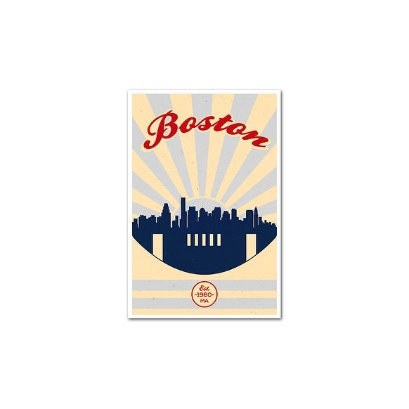 2fdf2c8a9e3f1 New England Patriots Vintage Football Matte Poster 24x36