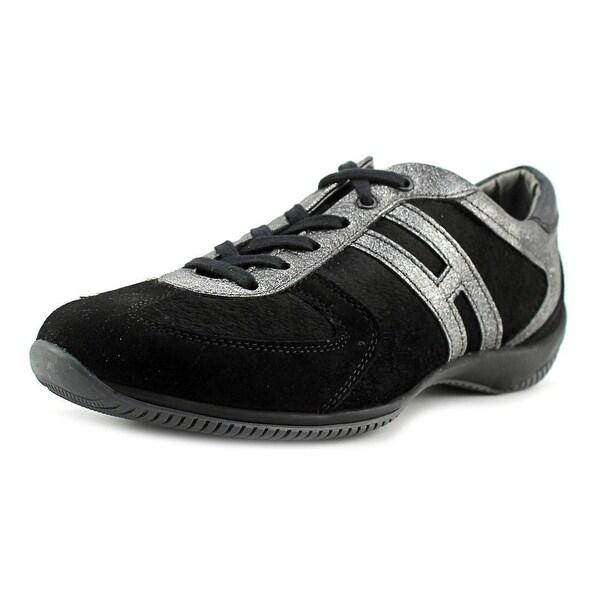 Hogan NEW TECH-1 LACE UP Women EM4 Black/D.Grey Sneakers Shoes