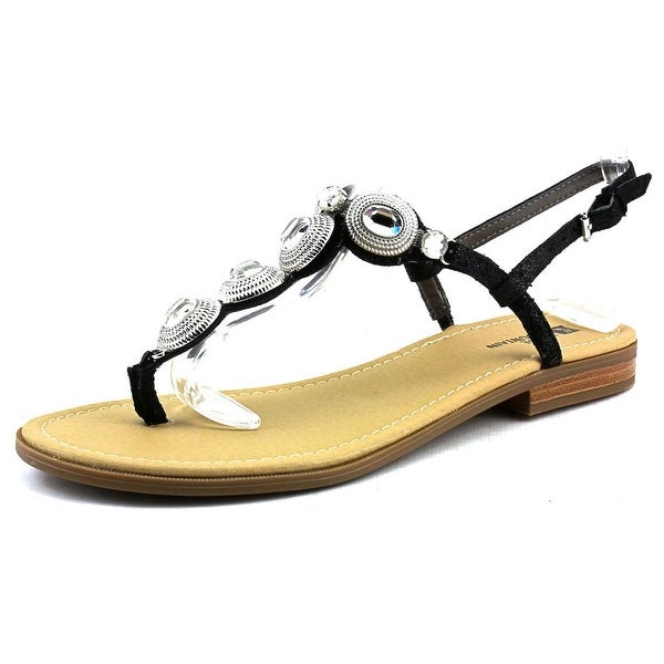 White Mountain Glow Open Toe Leather Sandals
