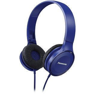 Panasonic Lightweight On-Ear Headphones  (Blue)