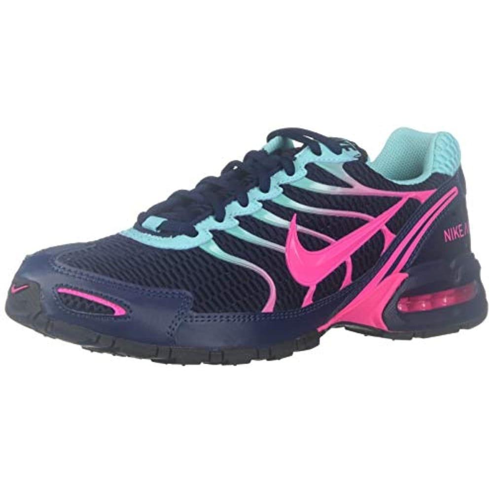 camión Seminario Mercado  Nike Women's Air Max Torch 4 Running Shoe (6, Midnight Navy/Pink Blast) -  Overstock - 30069395