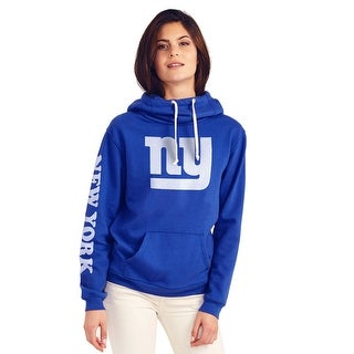 New York Giants Women's Cowl Neck Hooded Sweatshirt