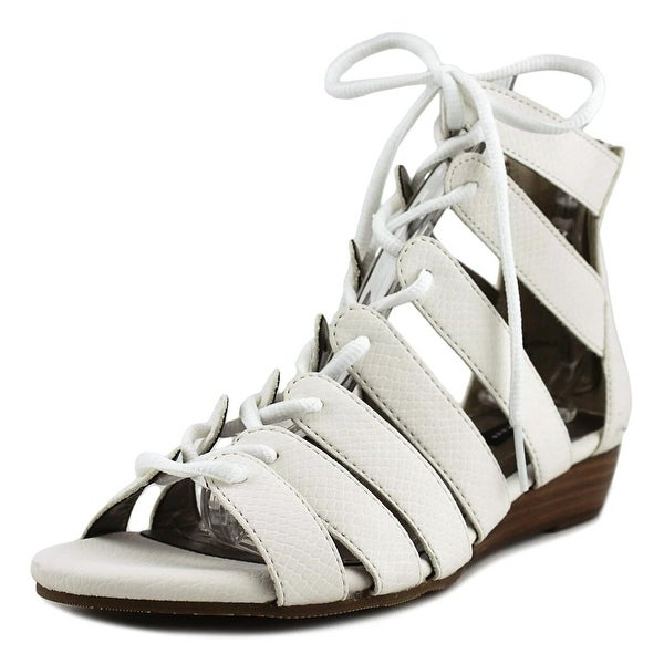 Array Bailey White Sandals