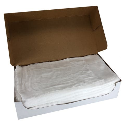 Arkwright Bleached Bulk Cheesecloth, Extra Large, Multiple Grades - for Holiday, Cooking, Furniture Staining, Wood Working