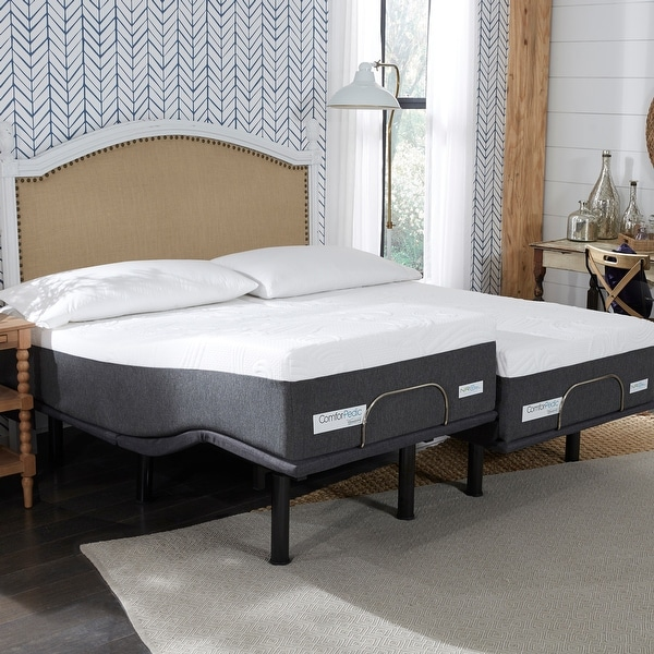 ComforPedic from BeautyRest 12-inch NRGel Mattress and Adjustable Bed Set. Opens flyout.