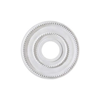 """Canarm FM-39 Pearl Ceiling Medallion With 3-5/8"""" Center Opening - White - N/A"""