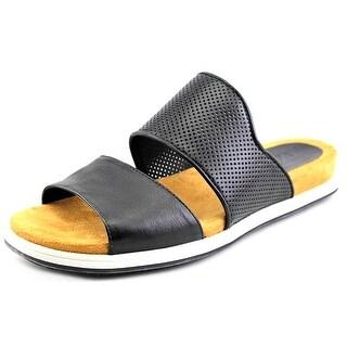 Naya Korthay Open Toe Leather Slides Sandal