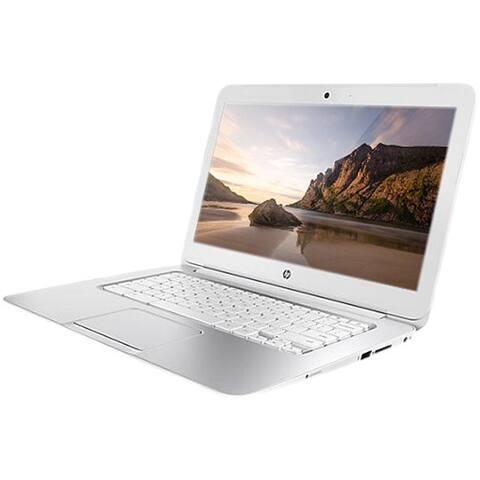 HP Chromebook F7W49UA#ABA Intel Celeron 2955U X2 1.4GHz 4GB 16GB SSD,White(Certified Refurbished)