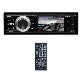 "Boss 3.2"" TFT/LCD Display Single Din  Bluetooth USB/SD Remote"