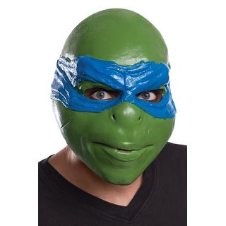 Rubies TMNT Movie Leonardo Adult Mask - Green