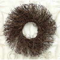 "Angel Vine Twig Wreath, 11"""