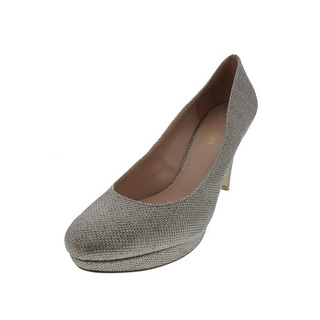 Enzo Angiolini Womens Dixy Mesh Metallic Pumps - 9.5 medium (b,m)