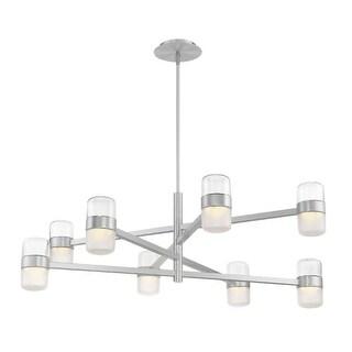 "Modern Forms PD-25740 Jazz 8 Light 40"" Wide Integrated LED Chandelier"