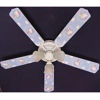 Trendy Hello Kitty Print Blades 52in Ceiling Fan Light Kit - Multi