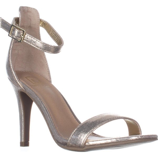 MG35 Blaire2 Dress Ankle Strap Sandals, Gold
