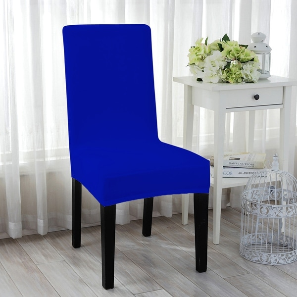 Dining Room Chair Back Covers: Shop Unique Bargains Stretch Spandex Short Dining Chair