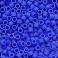 Miyuki Delica Seed Beads 11/0 Matte Opaque Cyan Blue DB1588 7.2 Grams