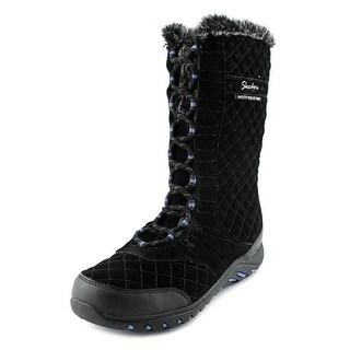 Skechers Adventure Round Toe Leather Winter Boot