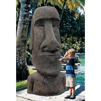 Design Toscano Easter Island Ahu Akivi Moai Monolith Statue: Giant