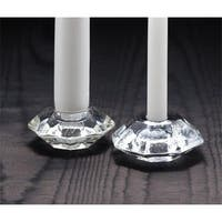 Reversible Clear Glass Holder