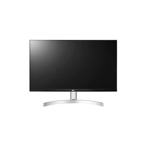 """LG 27MN60T-W 1080p 27"""" IPS FreeSync Monitor,White(Used-Good) - White"""